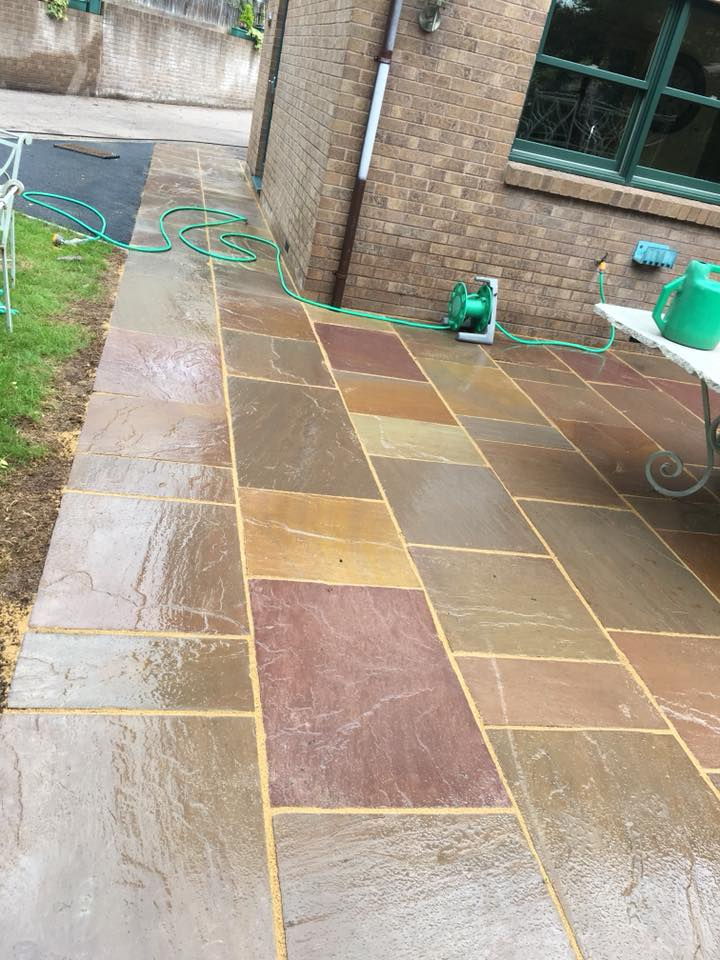 Patio Refresh Property Exterior Cleaning By H2o Cleaning
